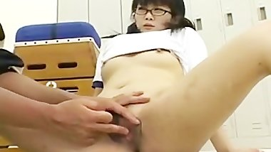 Yuria Hidaka fucked at school part2