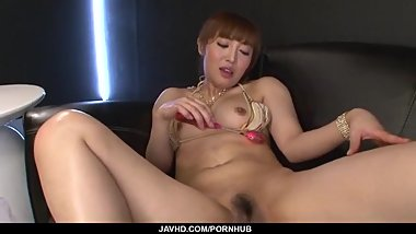 Ravishing toy porn along superb Mami Asakura