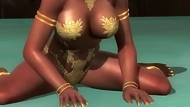 Dead or alive 5 Hot Lisa in tight microbikini thong big ass 3D exposure !