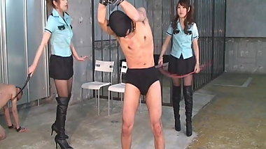 Japanese Mistress Hard Whipping