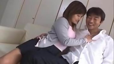 Yuka Matsushita busty is fucked in nasty cunt