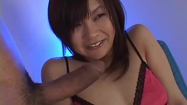Blowjob from a Cute Girl Japanese. NS