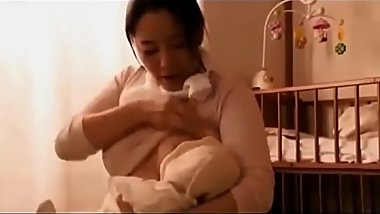 Japanese breast-feeding MILF&#039_s adultery - Pt2 On HdMilfCam.com