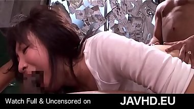 Forced interracial threesome with japanese lady - watch full uncensored on http://javhd.eu