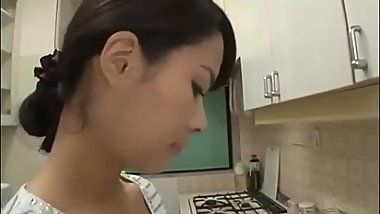 Asian stepmom are harassed by her son at home - Pt2 On HDMilfCam.com