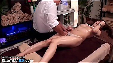 Japanese massage with schoolgirl turns in sex part 1 - More at Elitejavhd.com