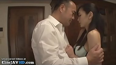 Japanese beauty fucks husband&#039_s best friend - More at Elitejavhd.com