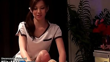 Jav hottest teen gives the best massage - More at Elitejavhd.com