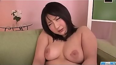 Megumi Haruka, hot milf, spreads legs for a huge dick - More at Javhd.net