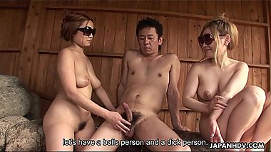 Sublime Japanese girl gobble up a hard dong
